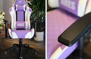 Ghế gaming êm mượt, nhiều màu bắt mắt và 'ngon' nhất trong tầm giá 3tr đồng: E-Dra Ares EGC207