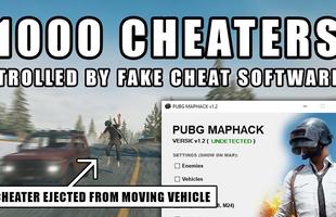 """PUBG: Cay cú vì gặp hack quá nhiều, nam game thủ tự viết hẳn tool cheat """"giả"""", lừa hacker sập bẫy, tự hủy"""