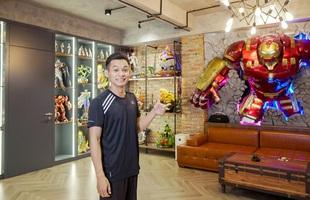 """Độ Mixi khoe nhà mới, choáng ngợp với phòng stream """"xịn sò"""", trang trí toàn đồ chơi khủng"""