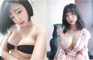Khoe vòng một to lên bất thường nhưng fan không tin, nàng hot girl gây sốc khi quay clip nóng, khoe cận cảnh áo ngực chật chội