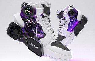 """Xuất hiện đôi Sneakers RTFKT x NZXT Drip cực """"cool ngầu"""" dành cho tín đồ PC Master Race"""
