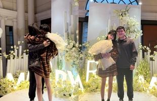 Uzi cầu hôn thành công bạn gái, cộng đồng mong chờ đám cưới hoành tráng