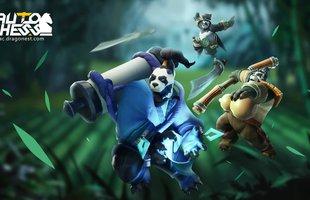 Sự xuất hiện của Ji Xi mang đến diện mạo mới cho tộc Pandaman trong Auto Chess