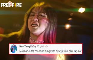 """Cô Ngân ra mắt MV rap khiến người nghe sởn gai ốc đến mức """"trầm cảm"""", game thủ Free Fire đổ lỗi cho MV của Jack"""