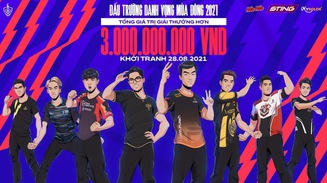 ĐTDV mùa Đông 2021 chính thức khởi tranh - Liên Quân giữ vững vị thế giải đấu hấp dẫn nhất làng Esports Việt Nam