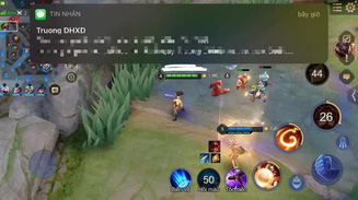 """Đang chơi Liên Quân, nhiều game thủ nhận tin nhắn """"sét đánh"""", khoảng cách tới """"thiên đường"""" chỉ 0.6 điểm"""