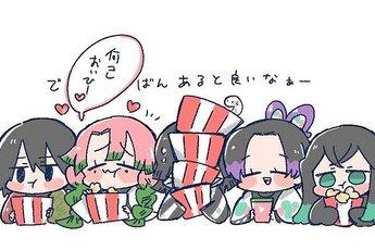 Dàn nhân vật Kimetsu no Yaiba cưng muốn xỉu qua loạt ảnh Kawaii vui nhộn