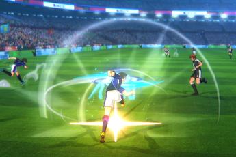 15 phút gameplay của Captain Tsubasa, đá bóng, sút chưởng không khác truyện tranh