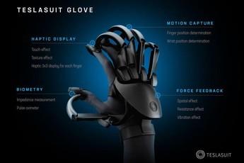 Teslasuit - Găng tay thực tế ảo siêu đỉnh cho game thế hệ mới