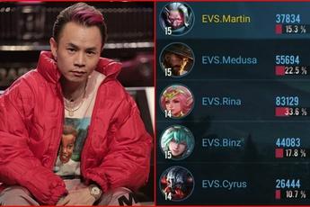 Liên Quân Mobile: Team Flash hủy diệt EVOS nhưng cái tên BinZ mới khiến cả cộng đồng chú ý