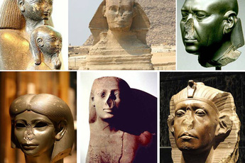 Giải mã hành động đập vỡ mũi tượng của những kẻ đào mộ, quả nhiên chuyện tâm linh không thể đùa