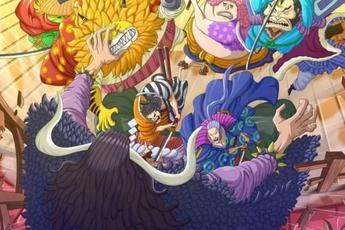 One Piece 993: Dùng hết tuyệt chiêu vẫn không làm Kaido hề hấn, nhóm Xích Sao sẽ có người phải chết?