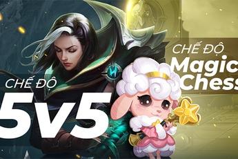Mobile Legends: Bang Bang VNG tổ chức mùa giải mới với chế độ Magic Chess & 5V5