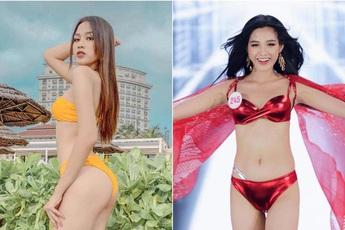 """So ảnh """"sống ảo"""" và khi đi thi của Top 3 Hoa hậu: Còn gì gây tranh cãi ngoài vòng eo của Đỗ Thị Hà?"""