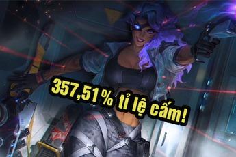 LMHT: Mất cân bằng trầm trọng, Samira mặc định bị cấm ở rank Thách Đấu Hàn với tỷ lệ BAN lên tới 357,51%