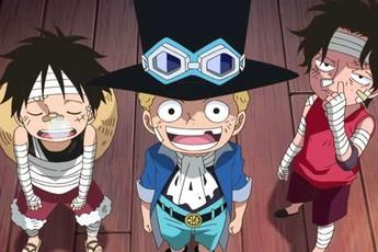 """One Piece: Điểm chung của 3 anh em Luffy chính là """"sự liều lĩnh"""" và thích đối đầu với """"hàng khủng"""""""