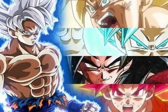 """Dragon Ball: Sự phát triển các cấp độ Super Saiyan giúp Goku trở thành siêu chiến binh """"mạnh nhất"""" dải ngân hà"""