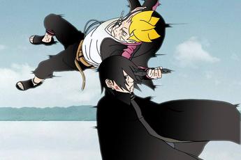 Boruto: Quên Tả Luân Nhãn bá đạo ngày nào đi, Sasuke sinh ra là để bố con Naruto hành hạ