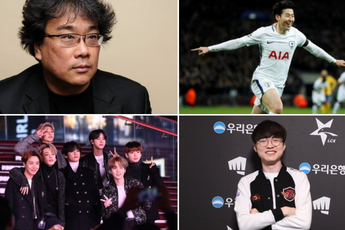 Dân mạng điểm danh 4 niềm tự hào của Hàn Quốc: Faker, BTS, Son Heung-min và đạo diễn đạt giải Oscar của Ký Sinh Trùng