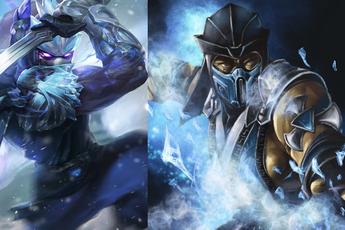 Có thể bạn chưa biết - Shen có tới 2 skin dựa trên nhân vật của tựa game 'Rồng đen' Mortal Kombat