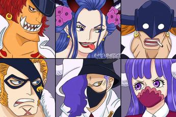 """One Piece: Điểm mặt 4 cái tên trong Topi Roppo khiến Queen """"chướng tai gai mắt"""" và muốn tự tay tiêu diệt?"""