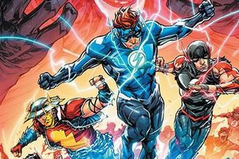 Batman Who Laughs sẽ tìm cách chiếm lấy quyền năng Dr. Manhattan của Flash