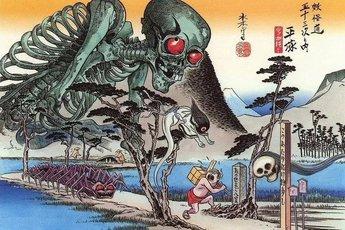 Yêu tinh xương Gashadokuro: Truyền thuyết kinh dị và nỗi sợ hãi ẩn sâu trong những khu rừng tại Nhật Bản