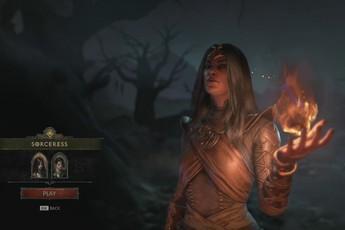 20 phút gameplay của Sorceress, phù thủy tối thượng của Diablo IV