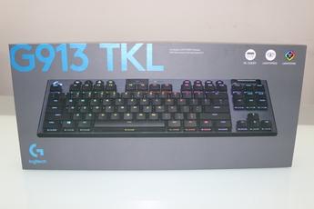 Logitech G913 TKL, bàn phím không dây cao cấp đáng mua cho game thủ trong năm 2020