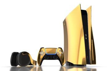 Xuất hiện PS5 mạ vàng 24K, giá bán gần 250 triệu đồng