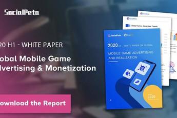SocialPeta và TopOn phát hành Sách trắng về Quảng cáo và kiếm tiền từ trò chơi di động trên toàn cầu