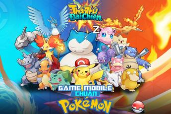 Thần Thú 3D - game chiến thuật time-based chủ đề Pokemon cực mới lạ cho game thủ hoài cổ