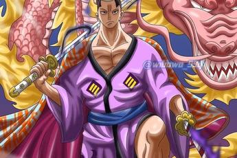 One Piece: Đã mắt với bức ảnh Momonosuke 28 tuổi tự tin muốn đối đầu với tứ hoàng Kaido