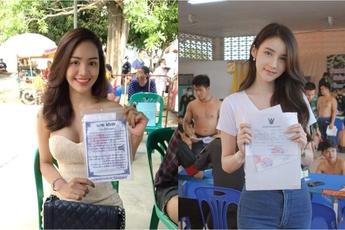 Loạt hình các người đẹp chuyển giới Thái Lan sẵn sàng nhập nghĩa vụ quân sự