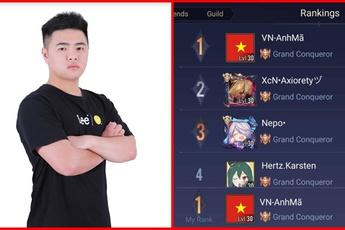 Liên Quân Mobile: Streamer Việt đạt Top 1 Thách Đấu Indonesia, cách giành ngôi đầu xóa tan mọi nghi vấn