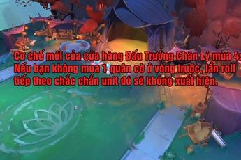 Riot nhận gạch đá từ các kỳ thủ vì cơ chế mới của cửa hàng Đấu Trường Chân Lý Mùa 4: Định Mệnh