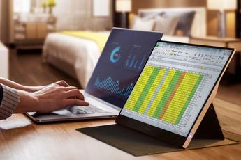 ViewSonic ra mắt dòng sản phẩm màn hình di động cho làm việc và giải trí
