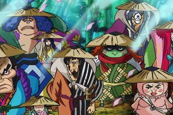 One Piece: Mối liên hệ giữa Ryuo cấp cao của các Cửu Hồng Bao và thanh Thu Thuỷ của Zoro