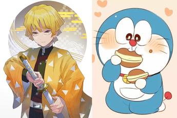 Ngạc nhiên chưa, Doraemon và Agatsuma Zenitsu trong Kimetsu No Yaiba có cùng ngày sinh nhật đấy