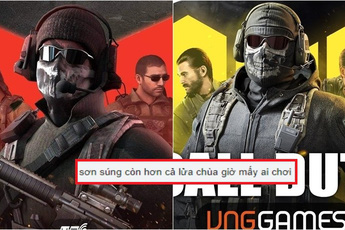 """""""Dead game"""" sơn súng kinh hơn cả Lửa Chùa bị tố đạo nhái Call of Duty Mobile để lấy lại sự nổi tiếng"""