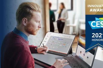 """ViewSonic giành giải thưởng CES 2021 nhờ màn hình di động """"thiết kế của tương lai"""""""
