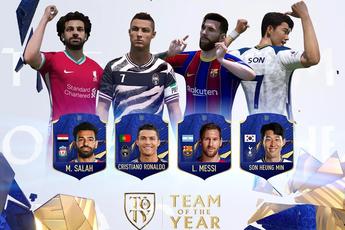 FIFA Online 4: Nhận ngay thẻ 21TOTY sớm nhất server với sự kiện bình chọn cho đội hình TEAM OF THE YEAR