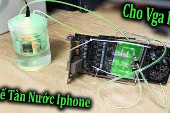 Thử lắp tản nhiệt nước của điện thoại lên PC và cái kết