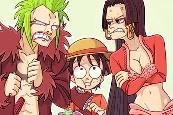 """Cười vỡ bụng với tên các nhân vật One Piece được """"vietsub"""" theo phong cách """"Vũ Trí Ba Tá Trợ, Tuyền Qua Minh Nhân"""""""
