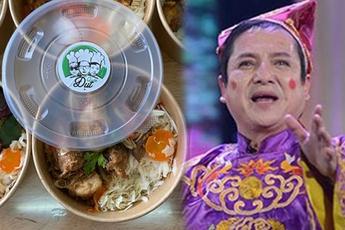 """Ủng hộ Đụt Quán, các nghệ sĩ Táo quân gọi đồ ăn của nhà Dũng CT là """"đại tiệc"""""""