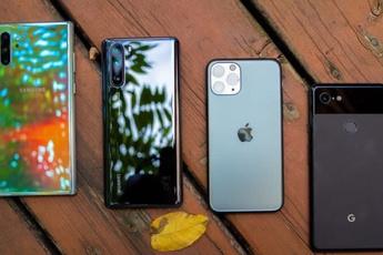 Điện thoại Android mất giá nhanh gấp đôi iPhone
