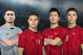Tin cực vui: Đội tuyển Việt Nam chính thức có mặt trong PES 2022
