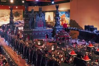 150 triệu mảnh ghép và 3 năm làm việc miệt mài, đây là bộ Lego lớn nhất trong lịch sử