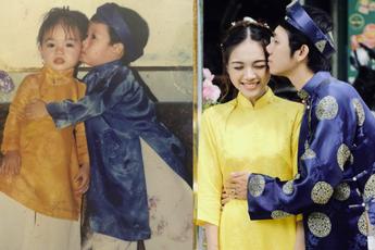 Cậu bé hôn lên má cô bạn năm 3 tuổi vì thấy dễ thương, 23 năm sau rước luôn nàng về dinh dù nhiều lần bị từ chối