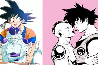 """Dragon Ball: Nhìn Goku và Frieza """"tình bể bình"""" mà fan than thở """"chỉ có đàn ông mới mang lại hạnh phúc cho nhau"""""""